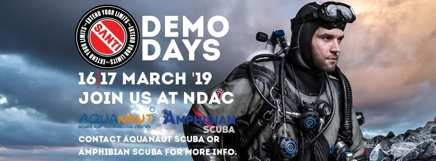 SANTI Demo Days 16th / 17th March at NDAC Chepstow